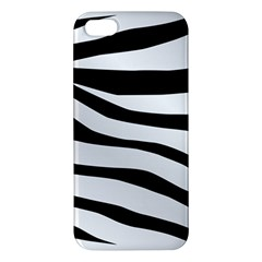 White Tiger Skin Iphone 5s/ Se Premium Hardshell Case