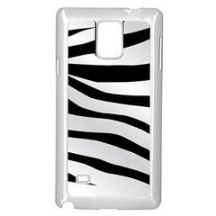 White Tiger Skin Samsung Galaxy Note 4 Case (white)