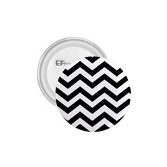 Black And White Chevron 1 75  Buttons