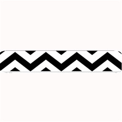 Black And White Chevron Small Bar Mats