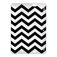 Black And White Chevron Kindle Fire Hdx 8 9  Hardshell Case