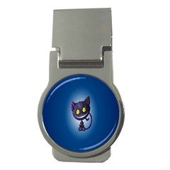 Funny Cute Cat Money Clips (round)
