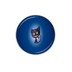 Funny Cute Cat Hat Clip Ball Marker (4 Pack)