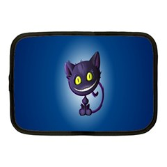 Funny Cute Cat Netbook Case (medium)