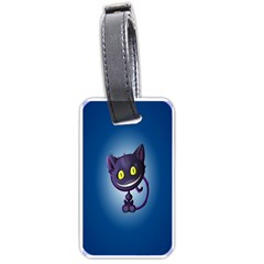 Funny Cute Cat Luggage Tags (one Side)