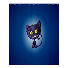 Funny Cute Cat Shower Curtain 60  X 72  (medium)