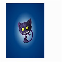 Funny Cute Cat Large Garden Flag (two Sides)