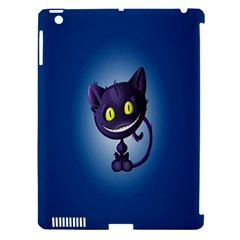Funny Cute Cat Apple Ipad 3/4 Hardshell Case (compatible With Smart Cover)