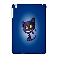 Funny Cute Cat Apple Ipad Mini Hardshell Case (compatible With Smart Cover)