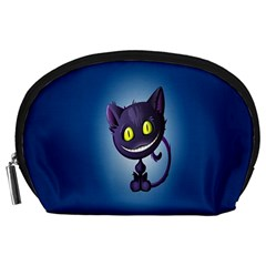 Funny Cute Cat Accessory Pouches (large)