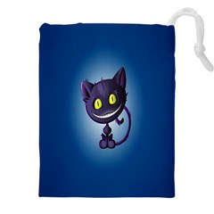 Funny Cute Cat Drawstring Pouches (xxl)