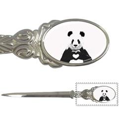 Panda Love Heart Letter Openers