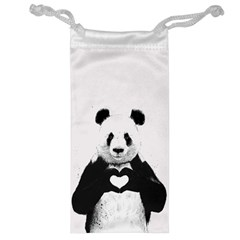 Panda Love Heart Jewelry Bag