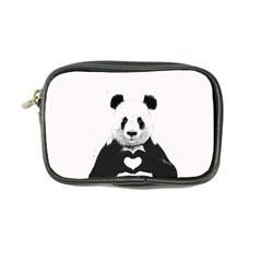 Panda Love Heart Coin Purse