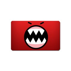Funny Angry Magnet (name Card)