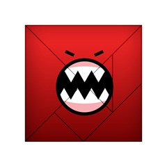 Funny Angry Acrylic Tangram Puzzle (4  X 4 )
