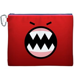 Funny Angry Canvas Cosmetic Bag (xxxl)