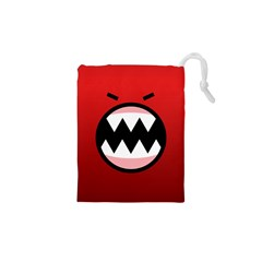 Funny Angry Drawstring Pouches (xs)