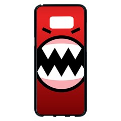 Funny Angry Samsung Galaxy S8 Plus Black Seamless Case