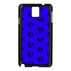 Lovely Hearts 17d Samsung Galaxy Note 3 N9005 Case (black)