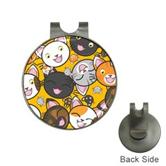 Cats Cute Kitty Kitties Kitten Hat Clips With Golf Markers