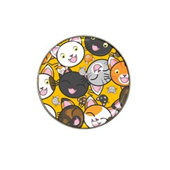 Cats Cute Kitty Kitties Kitten Hat Clip Ball Marker (10 Pack)