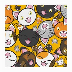 Cats Cute Kitty Kitties Kitten Medium Glasses Cloth (2 Side)