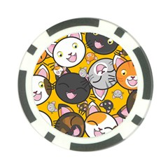 Cats Cute Kitty Kitties Kitten Poker Chip Card Guard (10 Pack)