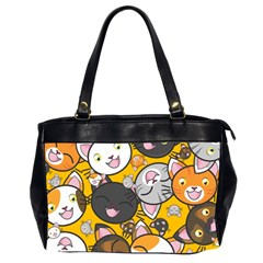 Cats Cute Kitty Kitties Kitten Office Handbags (2 Sides)