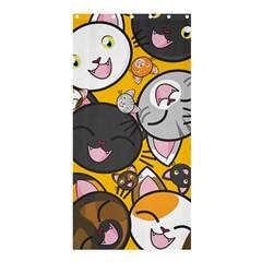 Cats Cute Kitty Kitties Kitten Shower Curtain 36  X 72  (stall)
