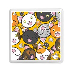 Cats Cute Kitty Kitties Kitten Memory Card Reader (square)