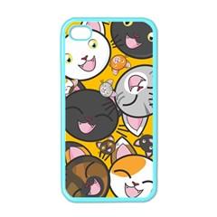 Cats Cute Kitty Kitties Kitten Apple Iphone 4 Case (color)