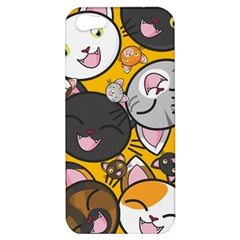 Cats Cute Kitty Kitties Kitten Apple Iphone 5 Hardshell Case