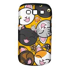 Cats Cute Kitty Kitties Kitten Samsung Galaxy S Iii Classic Hardshell Case (pc+silicone)