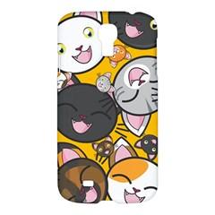 Cats Cute Kitty Kitties Kitten Samsung Galaxy S4 I9500/i9505 Hardshell Case