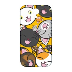 Cats Cute Kitty Kitties Kitten Samsung Galaxy S4 I9500/i9505  Hardshell Back Case