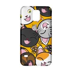 Cats Cute Kitty Kitties Kitten Samsung Galaxy S5 Hardshell Case