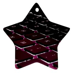 Computer Keyboard Ornament (star)