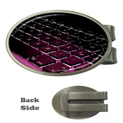 Computer Keyboard Money Clips (oval)