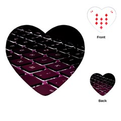 Computer Keyboard Playing Cards (heart)
