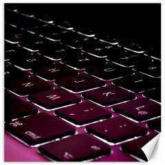 Computer Keyboard Canvas 16  X 16