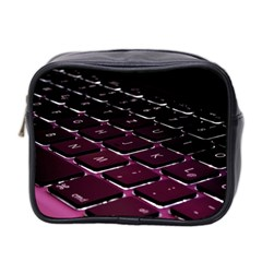 Computer Keyboard Mini Toiletries Bag 2 Side