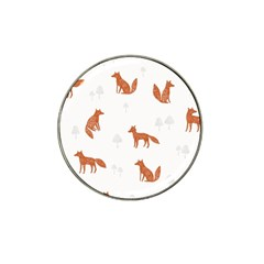 Fox Animal Wild Pattern Hat Clip Ball Marker (10 Pack)