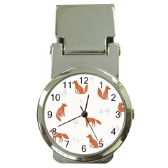 Fox Animal Wild Pattern Money Clip Watches
