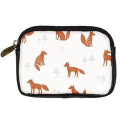 Fox Animal Wild Pattern Digital Camera Cases