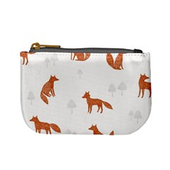 Fox Animal Wild Pattern Mini Coin Purses