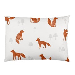 Fox Animal Wild Pattern Pillow Case (two Sides)