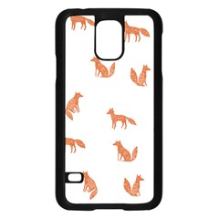 Fox Animal Wild Pattern Samsung Galaxy S5 Case (black)