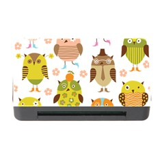 Cute Owls Pattern Memory Card Reader With Cf