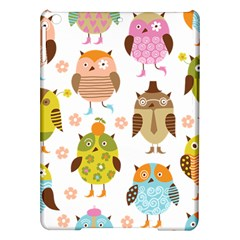 Cute Owls Pattern Ipad Air Hardshell Cases